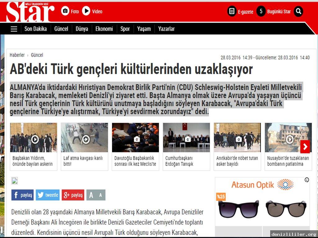 Star - AB'deki Türk gençleri kültürlerinden uzaklaşıyor
