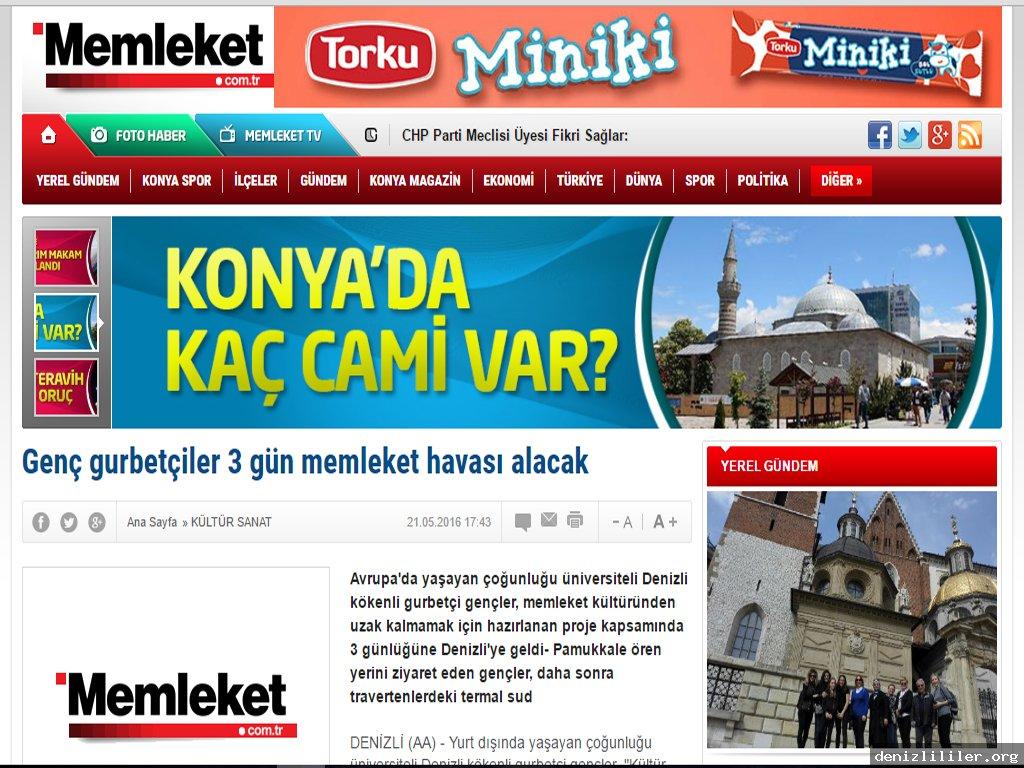 Memleket.com.tr - Genç gurbetçiler 3 gün memleket havası alacak