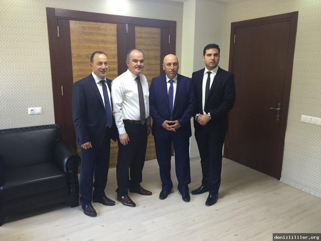 Denizli Pamukkale Belediye Başkanı Sayın Hüseyin GÜRLESİN'ni makamında ziyaret