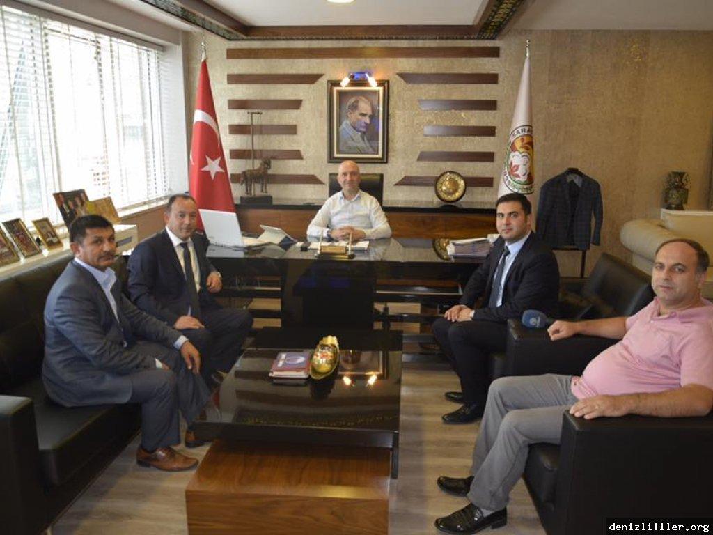 Sarayköy Belediye Başkanı Ahmet Necati ÖZBAŞ' a ziyaret