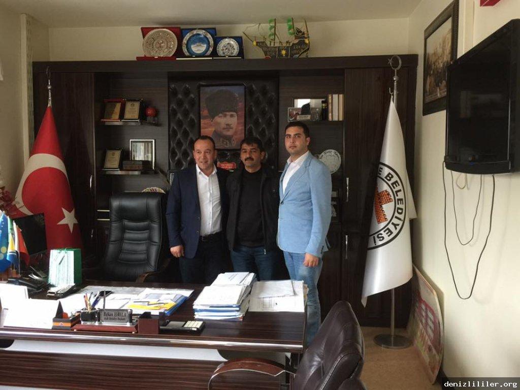 Kale Belediye Başkanı Erkan Hayla'yı ziyaret ettik