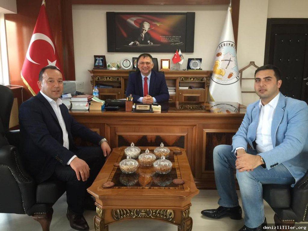 Serinhisar Belediye Başkanı Mehmet KOBAŞ'ı ziyaret ettik
