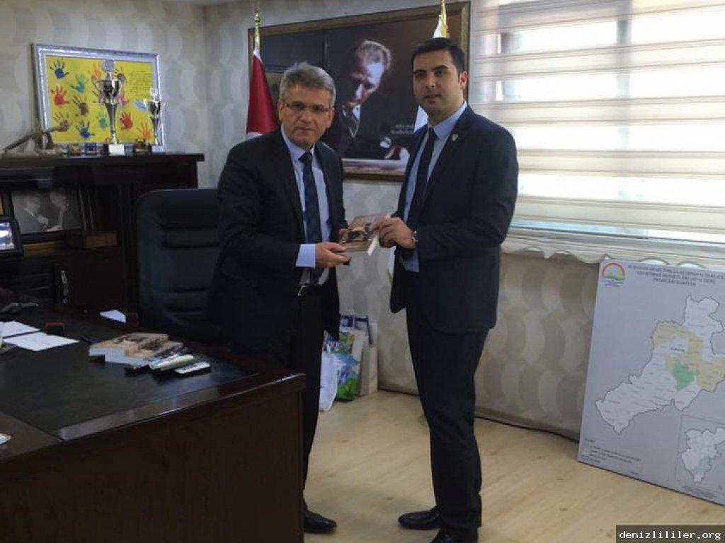 Acıpayam Belediye Başkanı Hulusi Şevkan'ı ziyaret ettik