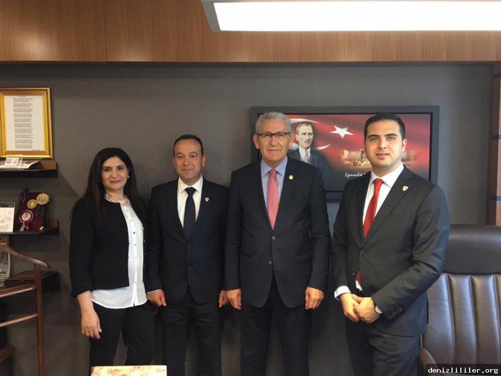 CHP Denizli Milletvekili Kazım Arslan'a ziyaret