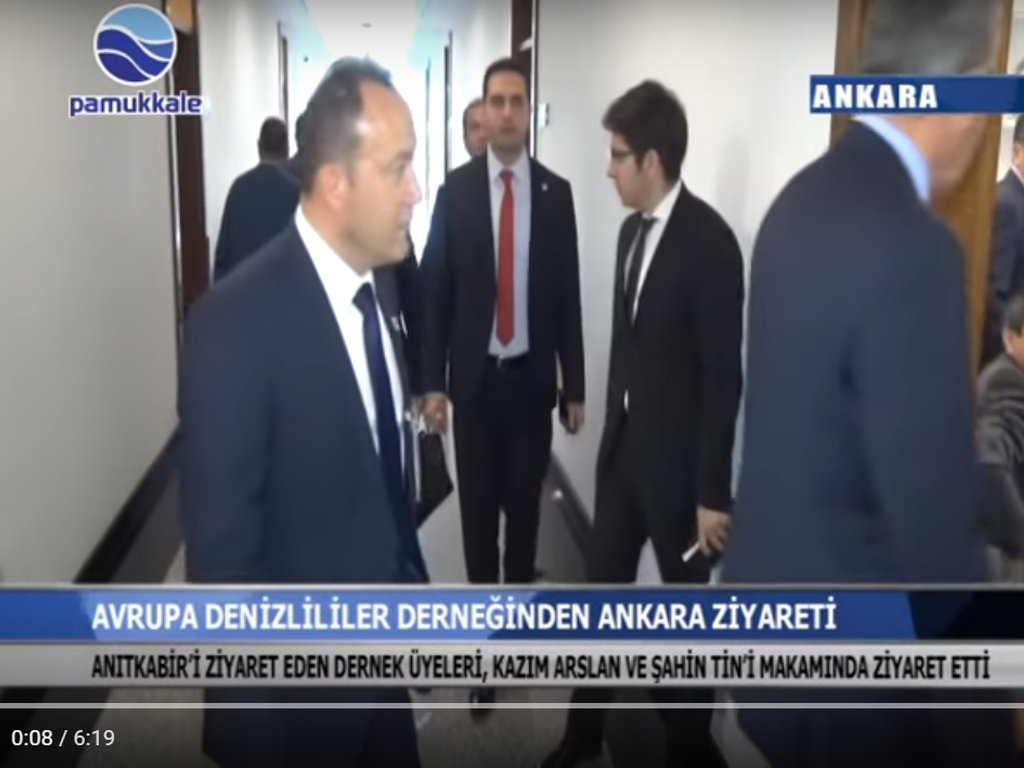 Avrupa Denizlililer Derneğii Ankara'da Denizli protokolünü ziyaret etti