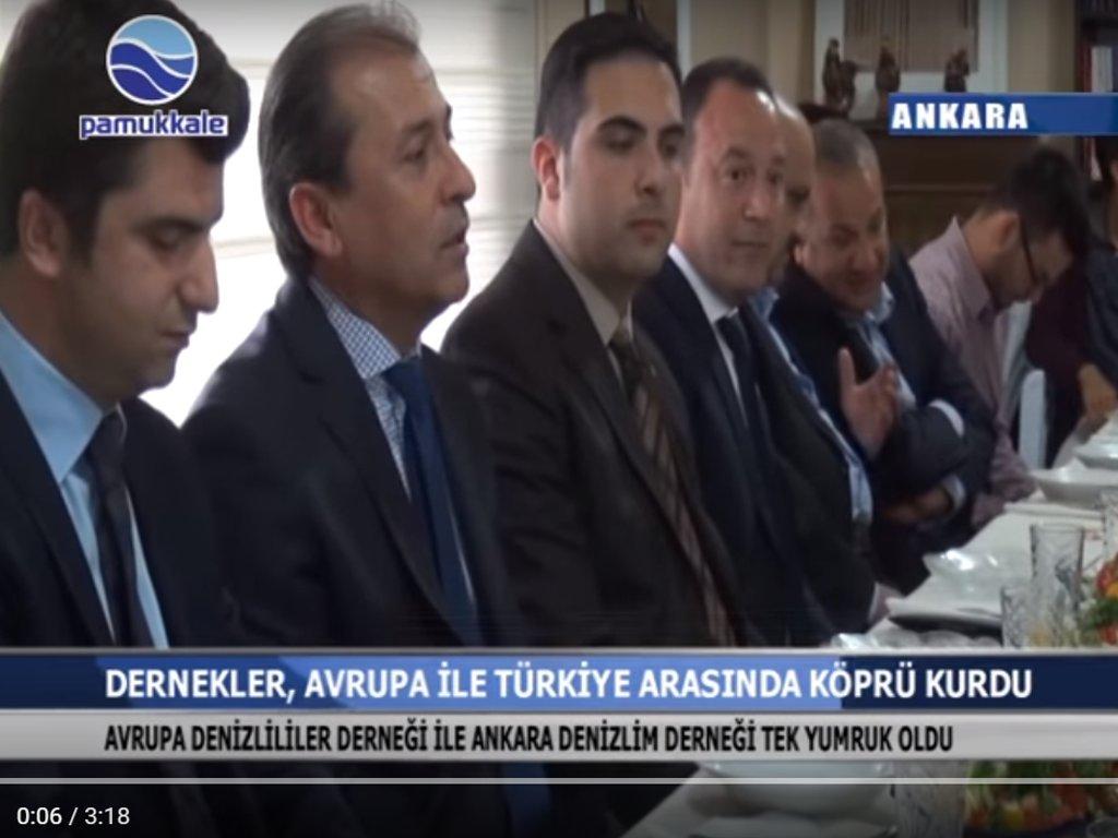 Pamukkale TV -  Dernekler Avrupa ile Türkiye arasında bağlar kurdu
